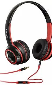 "u-6 אוזניות אופנת 3.5 מ""מ כללי בתוך אוזן אוזניות עבור iPhone סמסונג (צבעים שונים)"