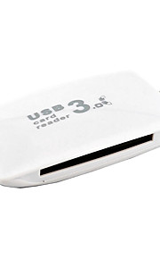 usb 3.0-porte / interface usb hub kortlæser cf sd 8 * 4 * 1