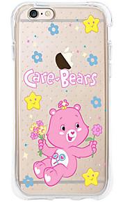 kakashi dierlijk patroon TPU schilderen airbag Hoogte- zachte hoes voor de iPhone 6s / 6 / 6s plus / 6 plus (kleine beer)