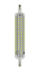 10W R7S LED-kornpærer T 120 SMD 2835 800 lm Varm hvit / Kjølig hvit Vanntett / Dekorativ AC 220-240 V 1 stk.