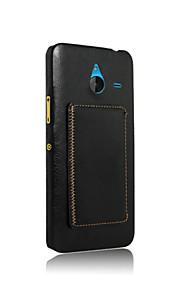 노키아 640 XL 케이스 커버 레트로 스탠드 전화 케이스 파우치 우아한 빈티지 카드 홀더 (모듬 색상)