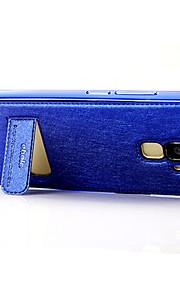 металлизированный металлический каркас лед текстуры шелка мобильный телефон оболочки для HUAWEI честь 7 случая