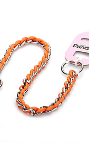 Cat / Dog Leash Waterproof Yellow / Gray / Orange / Gold Metal