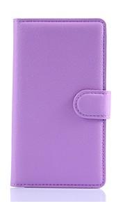 pu soporte para teléfono billetera de cuero repujado para lumia 535