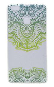 TPU transparante dunne masker voor Huawei p9 / p9 lite