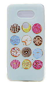 TPU dunne transparante donuts voor LG g5 / K7