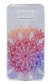 LGのG5 / K7用TPU薄い透明幸運の花