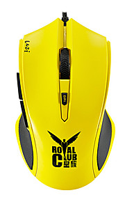 orginal Rapoo v20s gaming mus ergonomisk high-speed optisk gaming mus 60ips 12MHz arm kerne justerbar