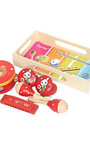 amarelo madeira instrumentos musicais para crianças todos os instrumentos musicais entrega aleatória brinquedo