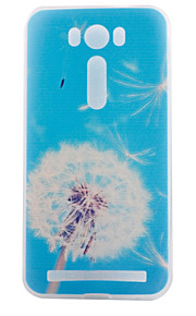 TPU materiaal paardebloem geschilderd patroon zachte telefoon geval voor asus zenfone max zc550kl