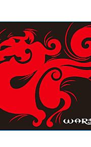 29 * mousepad jogos 25 centímetros lobo por lol / cf / dota vermelho / azul