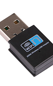 мини USB WiFi приемник беспроводной адаптер RTL8192 300Mbps