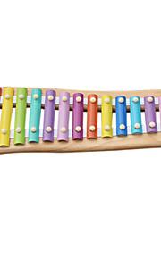 træ gul barn hånd banke klaver for børn alle musikinstrumenter legetøj