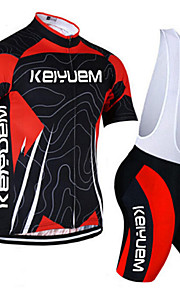 KEIYUEM®Others Unisex Short Sleeve Spring / Summer / Mountain Bike Cycling Clothing Bib Suits/ Breathable Quick Dry#22