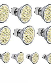 4W GU10 / GU5.3(MR16) / E26/E27 LED-spotpærer MR16 60SMD SMD 2835 300 - 400LM lm Varm hvit / Kjølig hvit DekorativDC 12 / AC 110-130 / AC
