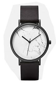 cluse assistir relojes mujer 2016 montre homme marmoreio relógios de couro à prova d'água senhoras quartzo relógios