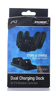 Parstot ja laturit-Alkuperäinen tehdasvalmistaja-012-USB-Ladattava-PS4 / Sony PS4-PS4 / Sony PS4-PVC / Muovi