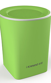 ikanoo i-208 רמקול סטריאו אלחוטי נייד מיני עם פונקציית דיבורית, כרטיס TF הקורא