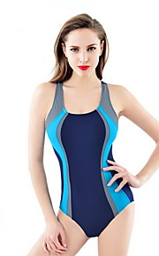 Others Women's Swimwear Quick Dry / Compression One Piece Adjustable Adjustable Navy Navy M / L / XL
