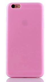 TPU Elegant Slim Solid Color Soft Back Case for iPhone 6s 6 Plus