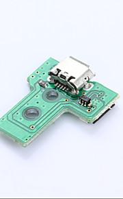 Vaihdettavat osat-Alkuperäinen tehdasvalmistaja-011-USB-Mini-Sony PS4-Sony PS4-Metalli