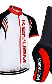 KEIYUEM®Others Short Sleeve Spring / Summer / Mountain Bike Cycling Clothing Bib Sets for Men/Women/ Breathable#37