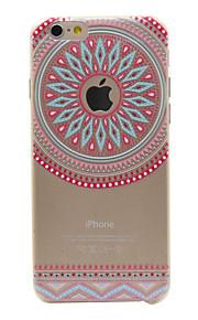 TPU caso teste padrão do círculo do telefone rosa material para 6s iphone plus / 6 plus / 6s / 6