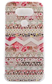 TPU materiaal roze strepen geschilderd patroon zachte telefoon geval voor asus zenfone lg g5