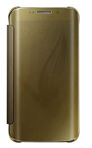 Per Samsung Galaxy S7 Edge Con chiusura magnetica / Traslucido Custodia Integrale Custodia Tinta unita PC SamsungS7 edge plus / S7 edge /