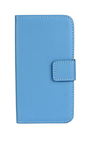 Solid color Stylish Flip Cover Wallet Card Slot Case with Stand for Samsung Galaxy A8/A9 (Assorted Colors)