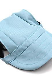 Gatos / Perros Bandanas y Sombreros Azul Claro Invierno / Verano / Primavera/Otoño Un Color Moda-Lovoyager