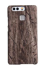 Awei древесины оболочки из углеродного волокна корпус пу случай для HUAWEI p9 плюс
