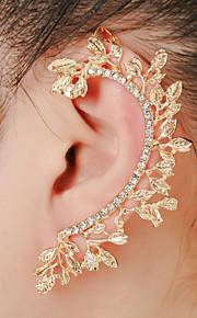 unisex mode guld / sølv øre manchetter øreringe smykker (1 stk, 10 g)