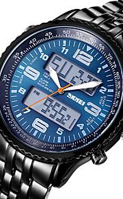 SKMEI ® relógios de pulso do esporte dos homens para meninos forma digital de liga cheia&movimento de quartzo relógios cronômetro