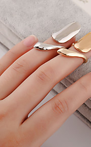 Alloy / Silver Plated / Gold Plated Ring Nail Finger Rings Daily / Casual 1pc