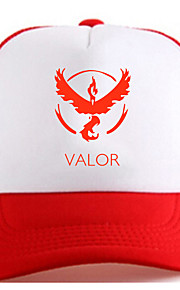 Pocket Little Monster Valor Red Adjustable Tennis Cap
