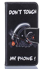 Hel kropp Korthållare / Flip Other PU-läder Mjuk Card Holder Fallet täcker för Samsung Galaxy J5 (2016) / J5 / J3 / Grand Prime