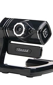 BLUELOVER M2200 pc kamera indbygget mikrofon fri driver med 2stk LED lys for desktop og laptop