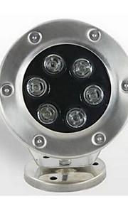 6W Vedenalaiset valaisimet 500 lm Lämmin valkoinen SMD Vedenkestävä AC 24 V 1 kpl