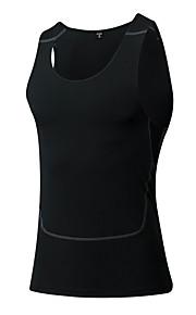 Hardlopen Compression Suit / Singlet Heren Mouwloos Ademend / Sneldrogend / Compressie / Zweetafvoerend / Stretch Fitness / Hardlopen