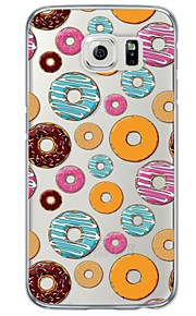 Donuts Pattern Soft Ultra-thin TPU Back Cover For Samsung GalaxyS7 edge/S7/S6 edge/S6 edge plus/S6/S5/S4