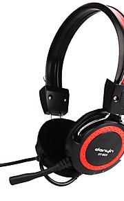 DANYIN DT-803 Kopfhörer (Kopfband)ForMedia Player/Tablet PC / Handy / ComputerWithMit Mikrofon / DJ / Lautstärkeregler /