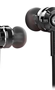 SENICC G45 이어폰 ( 인 이어)For미디어 플레이어/태블릿 / 모바일폰 / 컴퓨터With마이크 포함 / DJ / 볼륨 조절 / 게임 / 소음제거 / Hi-Fi