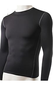 Hardlopen Sweatshirt / T-shirt Heren Ademend / Sneldrogend / Compressie / Zweetafvoerend Fitness / Hardlopen Sportief Sportkleding Strak