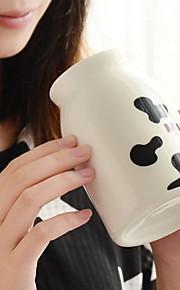 grãos vaca xícara de cerâmica criativa