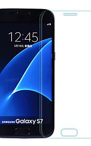 a prova di esplosione bordo curvo Asling 2.5d pellicola schermo in vetro temperato per Samsung S7 con elettrolitico