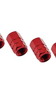 Aluminum Personality Tire Pressure Valve Cap Gas Nozzle Cap Decorative Cap