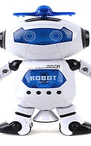 dança curta 360 crianças rotativas eletrônico espaço esperto robô crianças arrefecer astronauta brinquedos luz música modelo