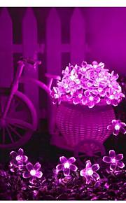 1 Soldrevne LED-lamper 100 lm Varm hvit / Naturlig hvit / Rød / Blå / Lilla / Rosa SMD 3528 Vanntett <5V V 1 stk