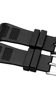 30*16mm  Durable Rubber Watchband for IWC Ingenieur